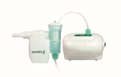 Aerobika with nebuliser