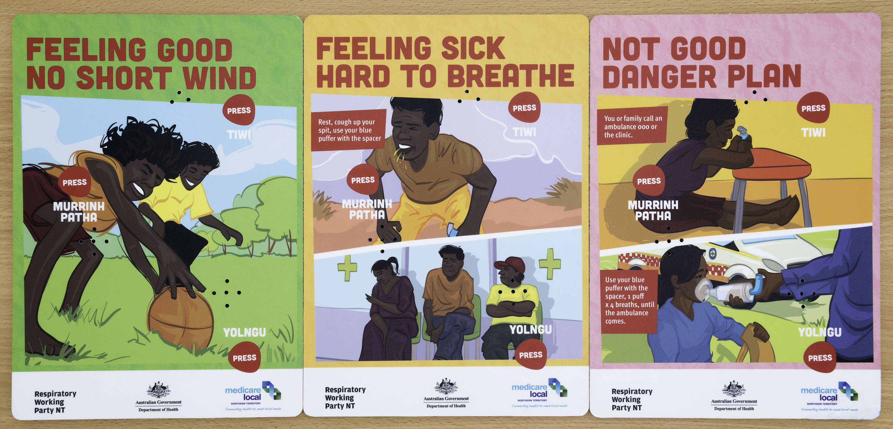 Bronchiectasis website - Indigenous section - Action Plan 1 ChronicDiseasesUnit_20150915_RDH5114