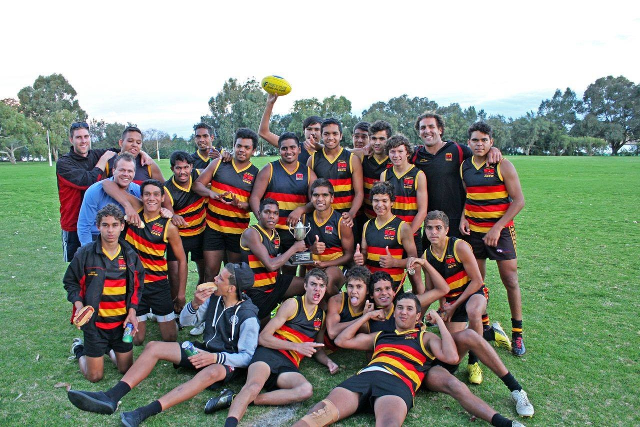 Indigenous footy team